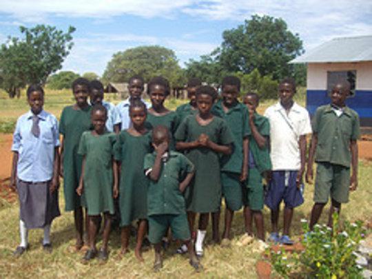 Orphans at N'gandu School