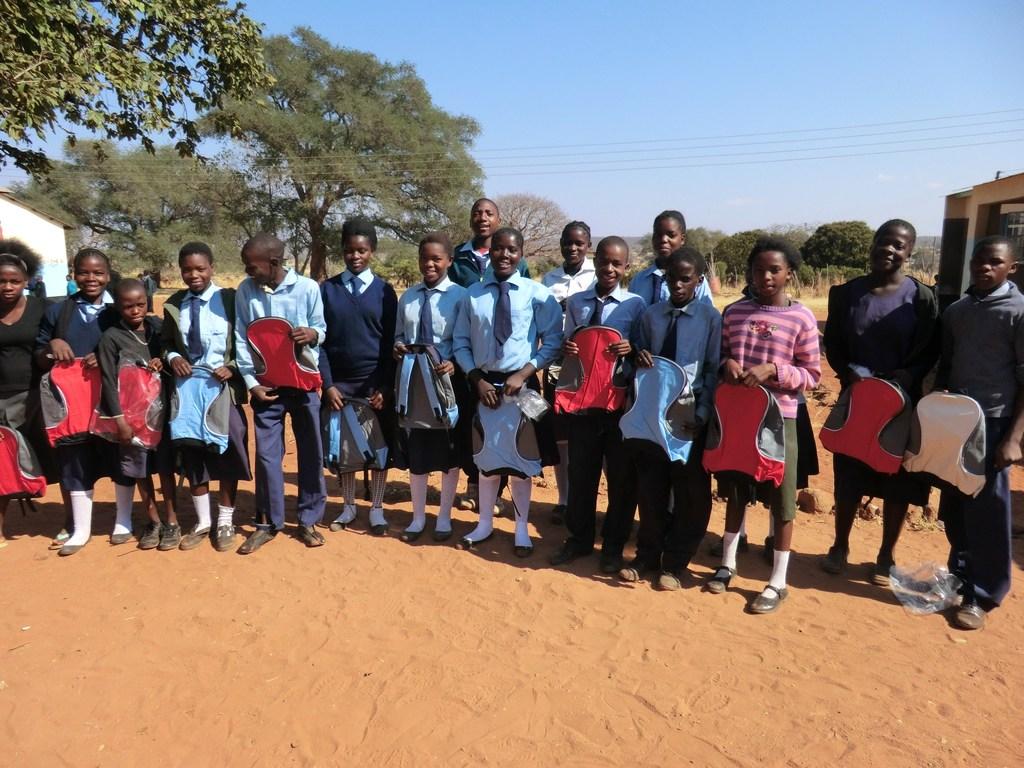 Mukuni Basic School Pupils