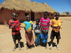 Orphans at Muchimbale School