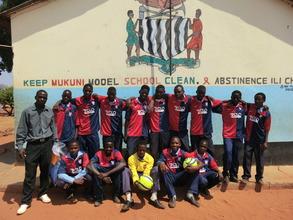 New football kits for Mukuni School