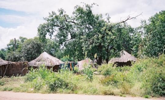 Traditional dwelling - Mukuni Village 2006