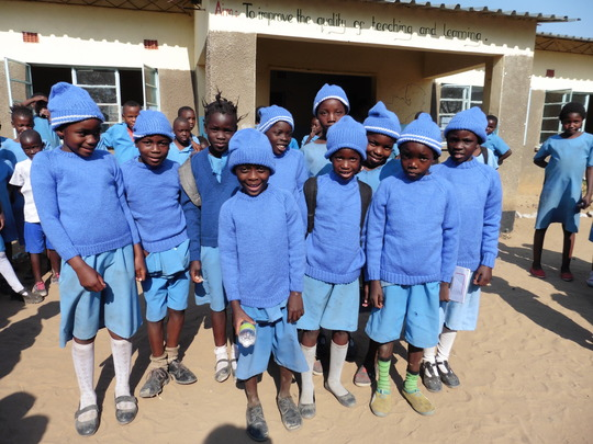 Donated Jumpers and Hats