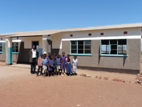 New classrooms for Ndele School pupils