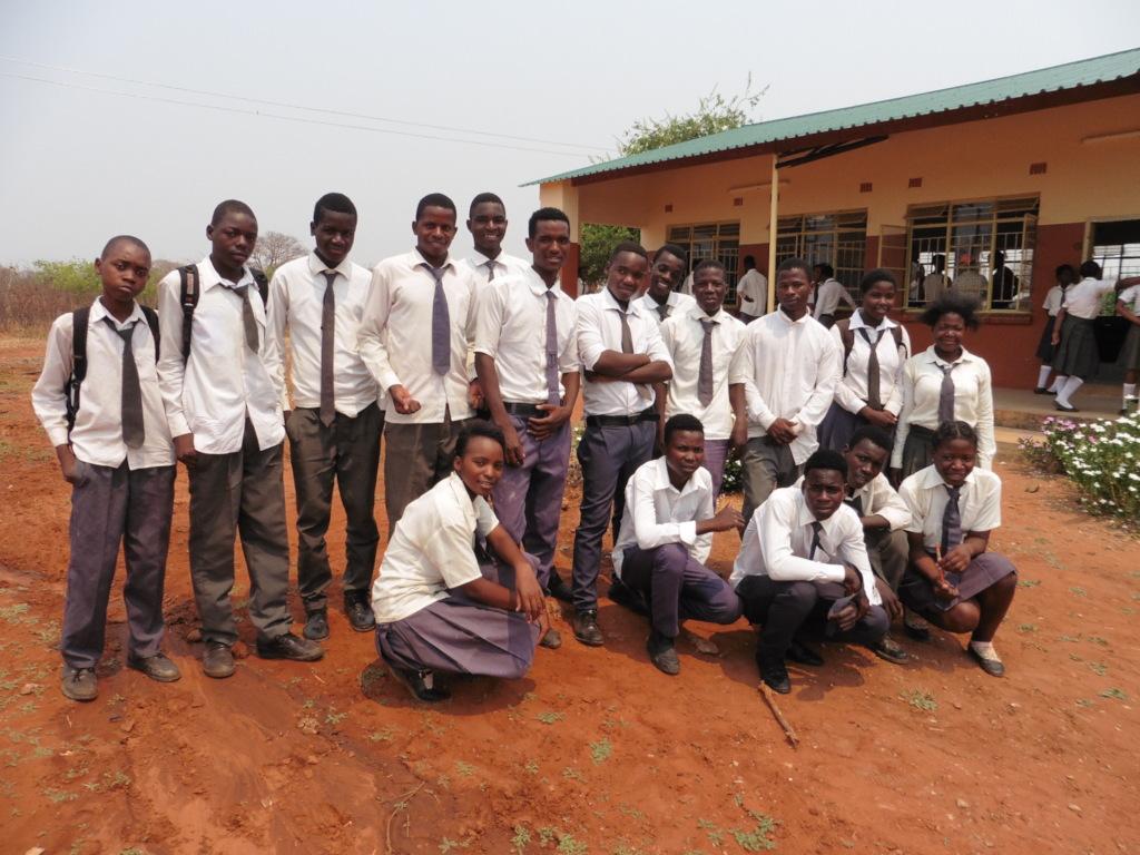 Secondary School Pupils - Mukuni Village