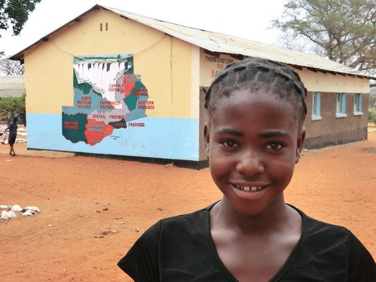 Sponsored orphan - Kamwi Basic School