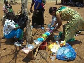 Under-fives feeding program