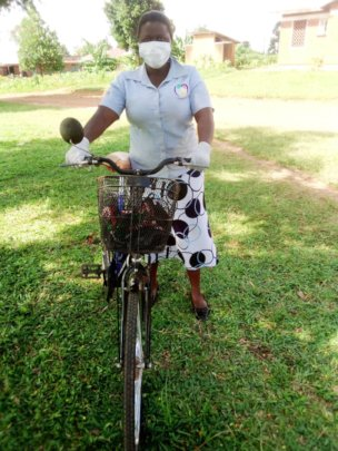 Mentor Mother, Teddy, in Uganda