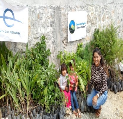 Delivery of trees for community reforestation proj