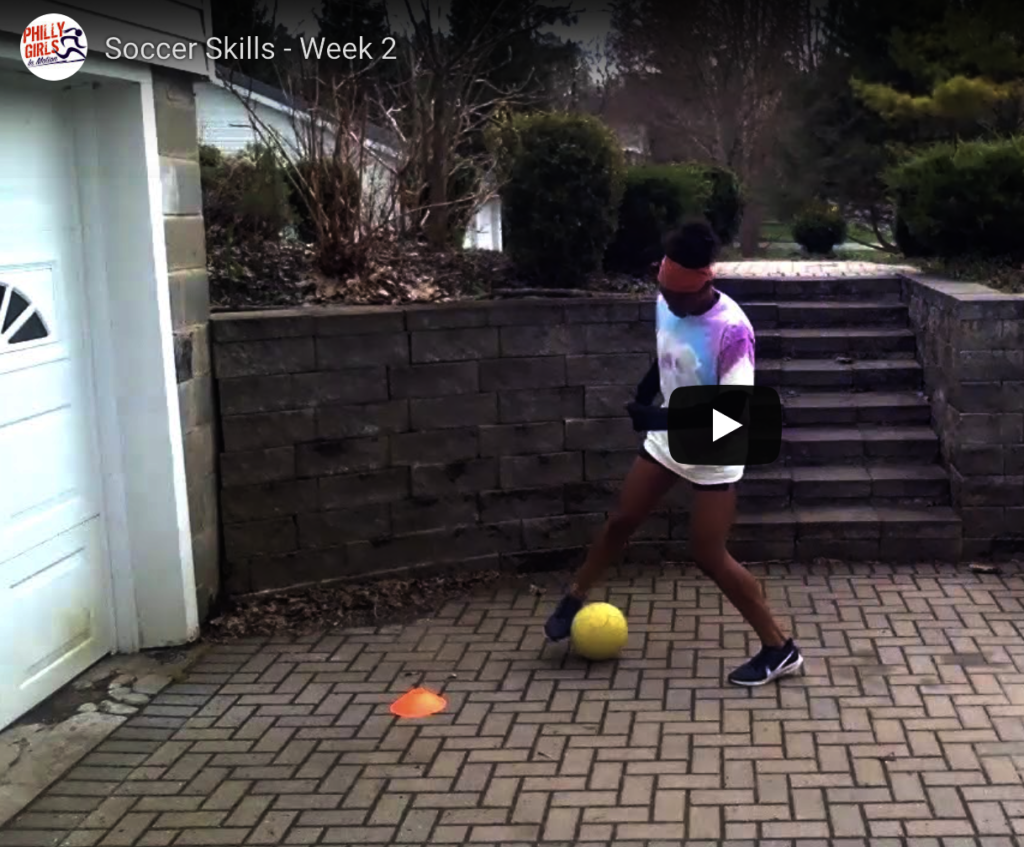 Virtual Soccer workout