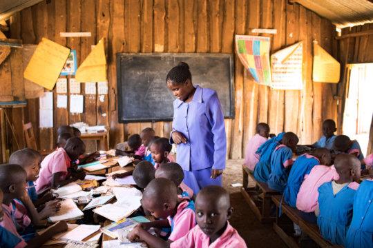 Teaching in Kenya