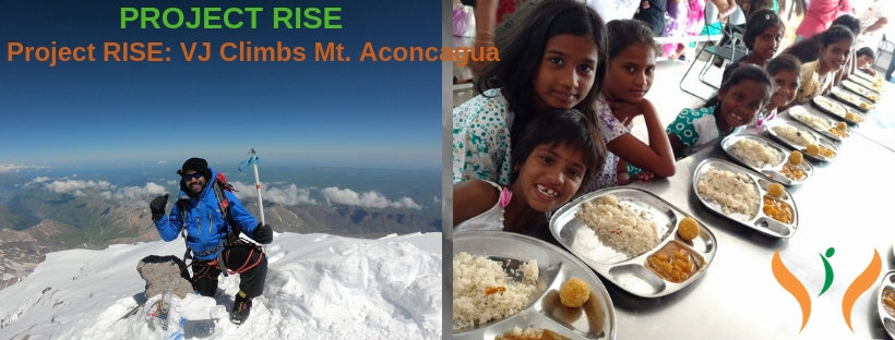 Project RISE: VJ Climbs Mt. Aconcagua