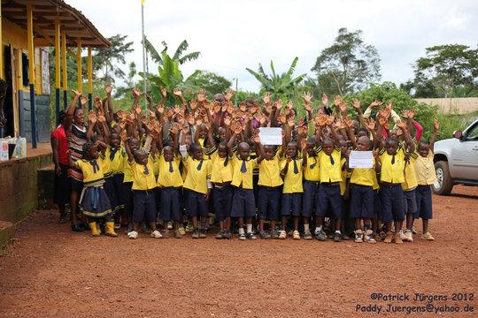 children at CAPEC school