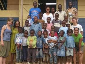 GlobalGiving Interns Visit CAPEC School