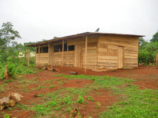 Outside of school - after initial construction
