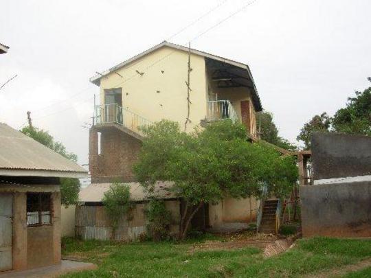 Picture of girls dormitory in Uganda