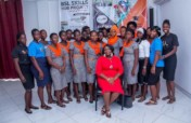 Investing in 20 needy girls learning how to sew