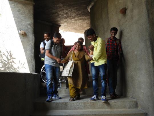 Ms Madhu in an inclusive trip