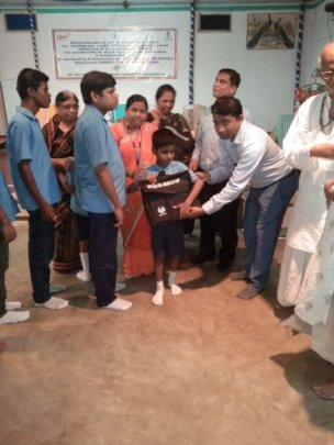 Braille Kit Received by the Visually Impaired