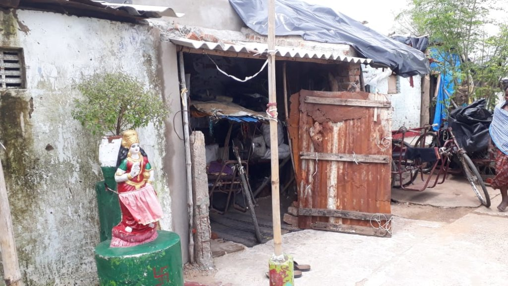 House of Leprosy affected People in Odhisa