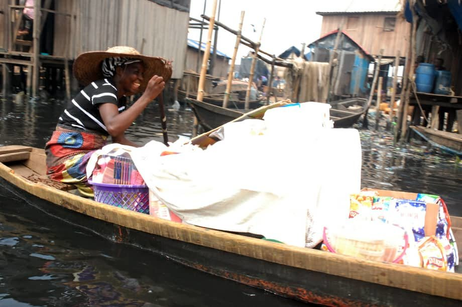 To build a clinic at Makoko Community  in lagos