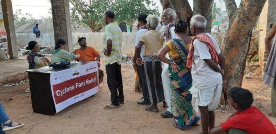 Health Camps in Slums of Bhubaneswar