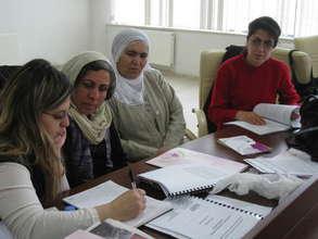 Women at a training on CEDAW, Diyabakir