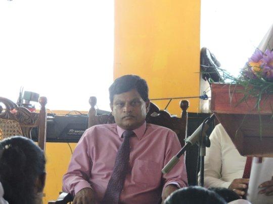 Mr. Sunil Jayaweera of DMC