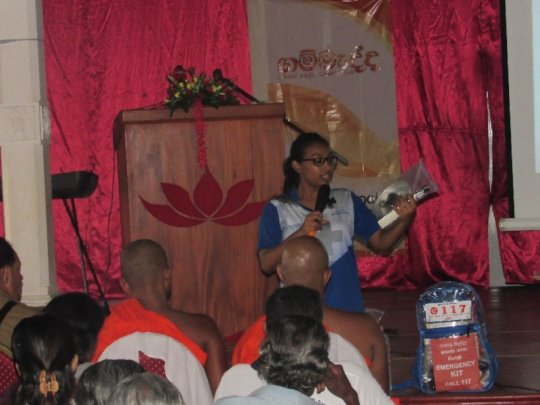 Ms. Michelle Joseph of A-PAD Sri Lanka