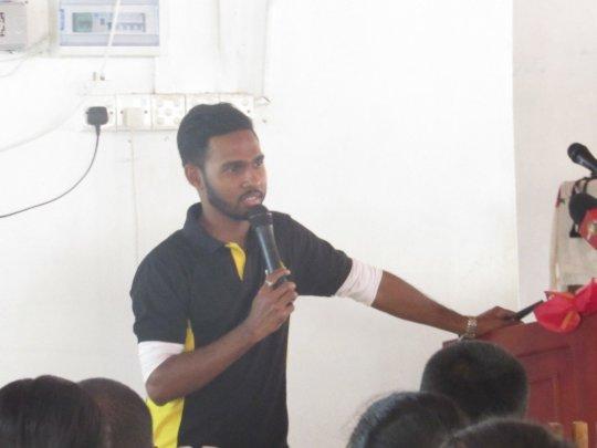 Mr. Suren Sanjaya of Gammadda Team