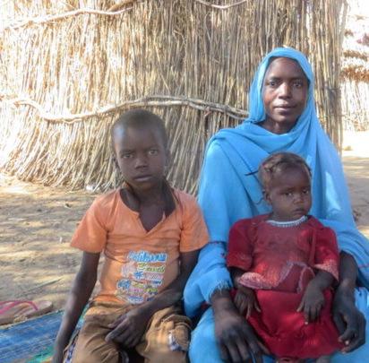 Beneficiary Family at Abu Sinat B Village