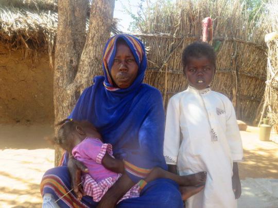 Beneficiary Family at Um Ajaja Village