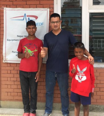 Govindra & Ramlal were discharged 16 months later