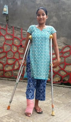 Look at me! I can walk again - year 3