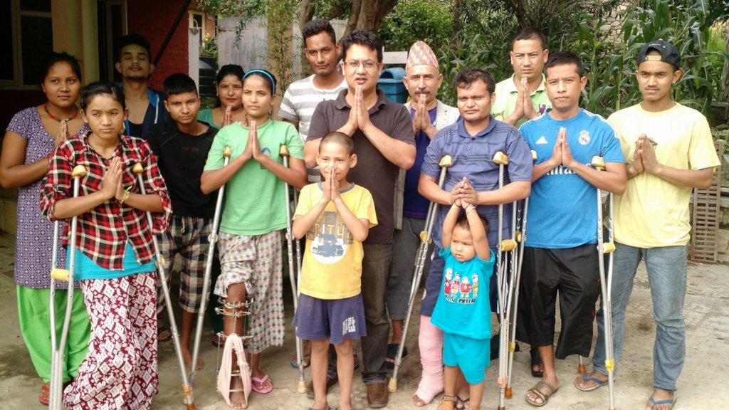 Medical care & rehabilitation changing lives Nepal