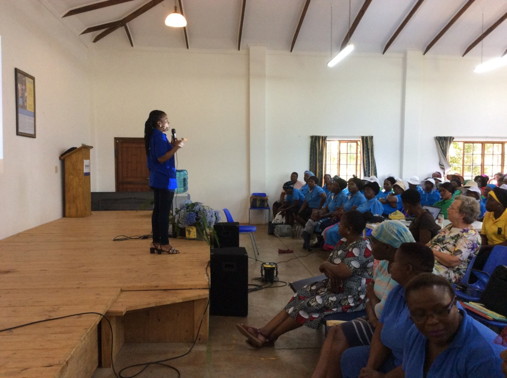 FAMSA speaker addresses SHG members at Thusanang