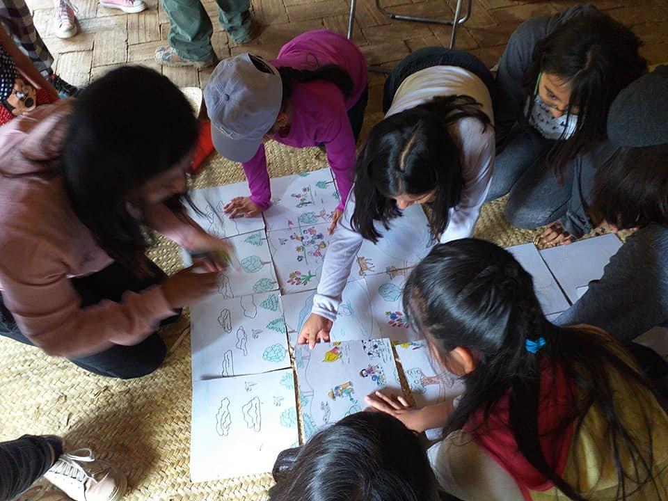 Childrens program at  El Pedregal