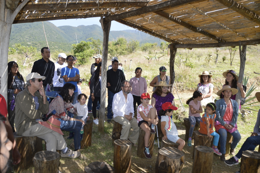 Tour & picnic for project supporters at Pedregal