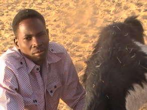 Ibrahim will finish secondary school this year