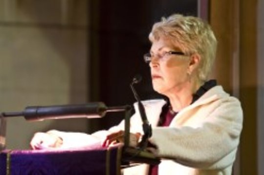 Ruth Rendell reading at K4K Christmas Concert