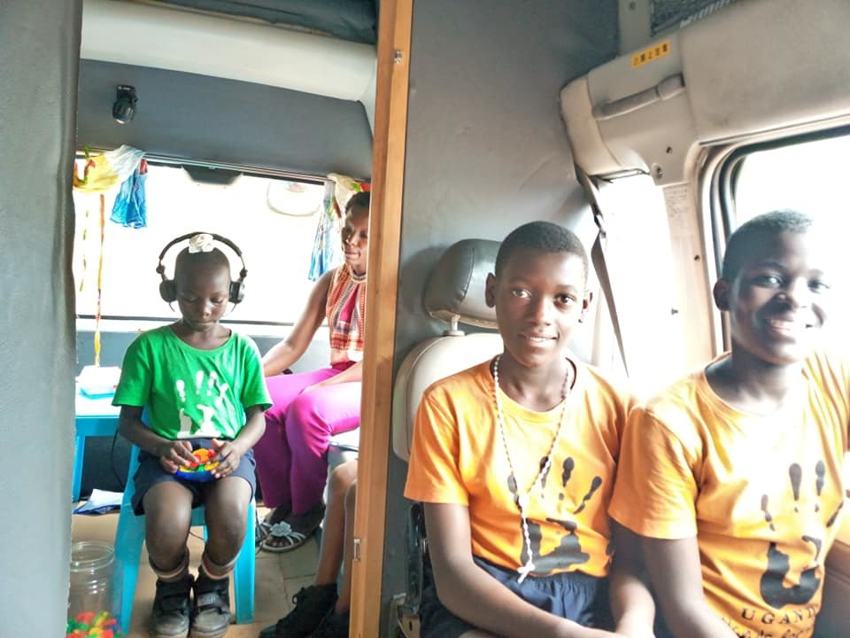 Mobile clinic for kids with hearing impairments