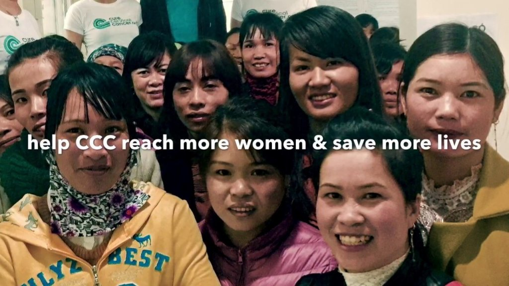 Treating women for cervical cancer in Hue, Vietnam