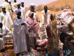 Improving children's health in Darfur