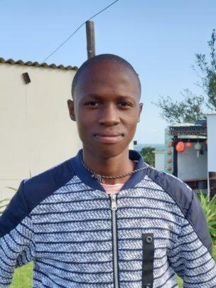 Scholarship student Abonga