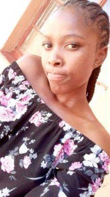 Scholarship student Sibusisiwe