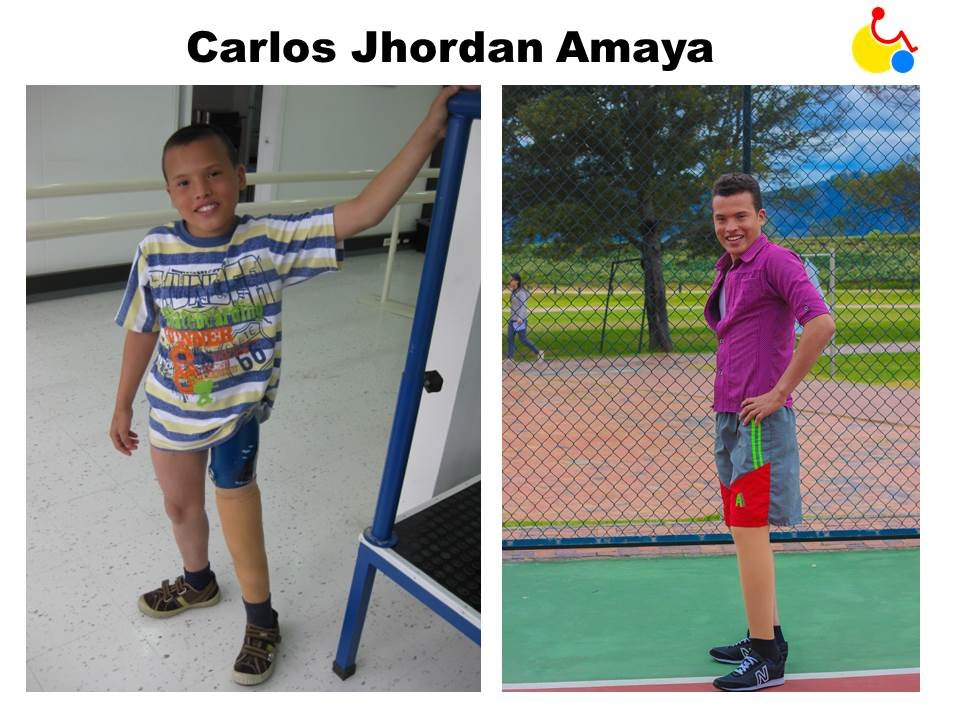 Carlos from a child to teenager!