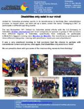 Disabilities only exist in our mind (PDF)