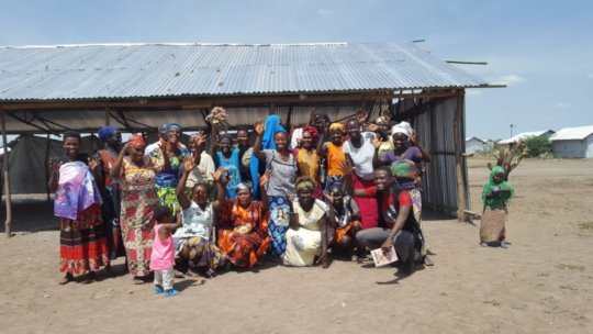 The women of the Kakuma Sewing Program
