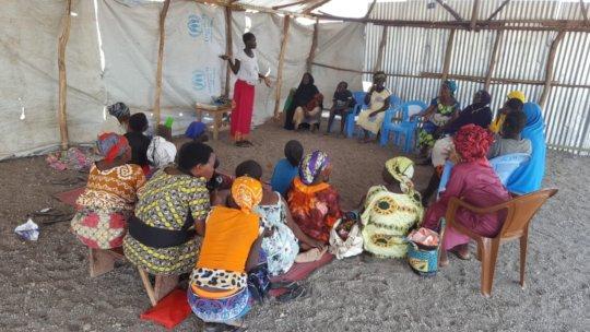 Workshop participants in Kakuma
