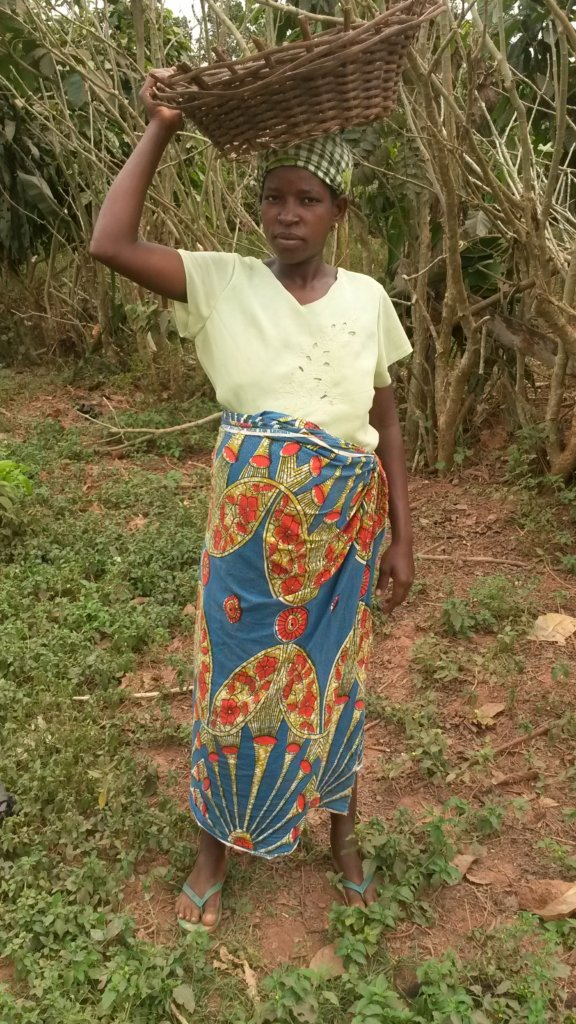Fatia working to provide for her family