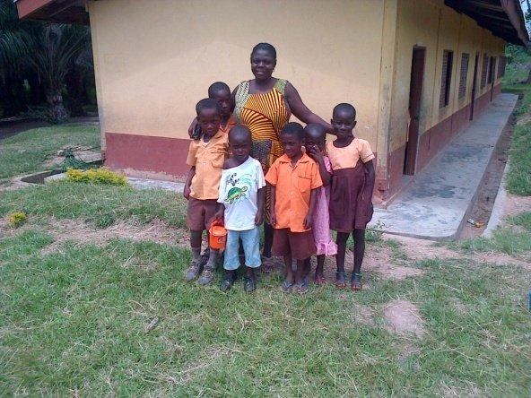 Emelia and children